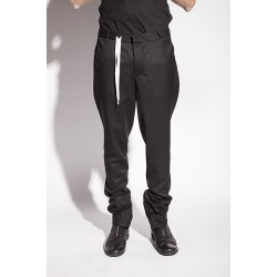 A NEW CROSS SPIRAL SUIT SLIM PANTS