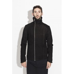 A NEW CROSS ANCFW17-012 NUBUCK CALF ASYMMETRIC JACKET