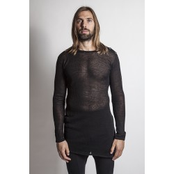 A NEW CROSS ANCSS16-041  SUPER LIGHT TRANSLUCID COTTON SWEATER