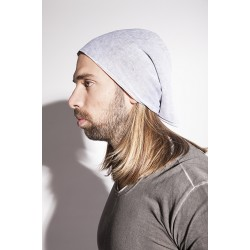 LABEL UNDER CONSTRUCTION DOUBLE LAYER PRINTED SQUARE BEANIE 27YXAC204