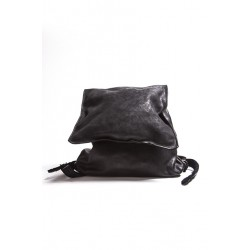 GUIDI BAG DBP01 SOFT HORSE FULL GRAIN BLACK