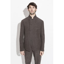 FORME D´EXPRESSION UG032 SLASHED MESS JACKET MOCHA