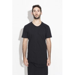 A NEW CROSS ANCSS17-026 DOUBLE LAYARED SLIM T-SHIRT