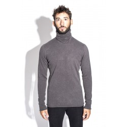 LABEL UNDER CONSTRUCTION 30YMSW156 PUNCHED HI NECK SWEATER