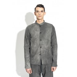 A DICIANNOVEVENTITRE 224 SHIRT JACKET GREY