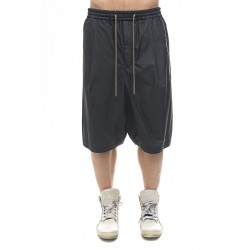 DEVOA PTI-CSH HARF PANTS SILK/COTTON CLOTH CHARCOAL
