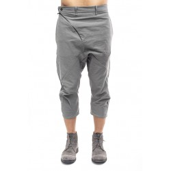 LEON EMANUEL BLANCK  DIS-3QCP-01 DISTORSION 3 QUARTER CHEM PANT 03 MED GREY