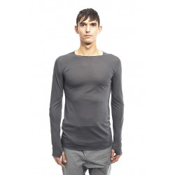 LEON EMANUEL BLANCK FP-LT-01 FORCED LONG T DARK GREY 02