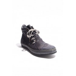 A DICIANNOVEVENTITRE SSN7 HIGH TOP SNEAKER KANGAROO OIL GREY