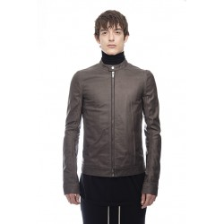 RICK OWENS RU18F1769 LCW LEATHER JACKET