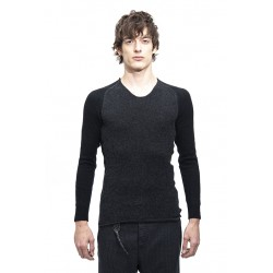 LAYER-0 21-39 SWEATER - BLACK / D. GREY