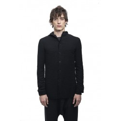 MA+ H102H VWVP HOODED FITTED SHIRT