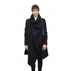 A NEW CROSS ANC I - 008 ARTISANAL WOOL MOTH COAT