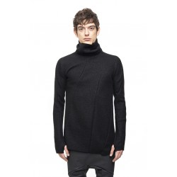 LEON EMANUEL BLANCK DIS-TN-01-SG DISTORSION TURTTLE NECK