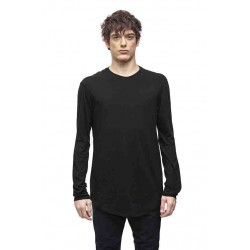 DEVOA CSC-K63 LONG SLEEVE COTTON /CASHMERE  JERSEY