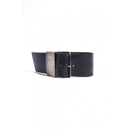 IOLOM IO-02-054 BRACELET BRASS+TIN+COW LEATHER
