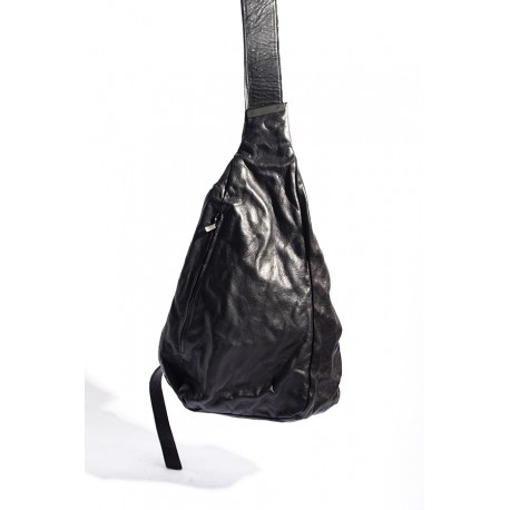 IOLOM IO-08-013 BODY BAG BRASS + HORSE LEATHER