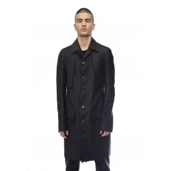 RICK OWENS RR19S2904 NDKL TE WOVEN TRENCH