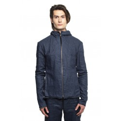 MA+ RELAXED AVIATOR JACKET J224HZ LPU BLUE