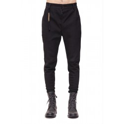 CEDRIC JACQUEMYN TR56 FA264 PLEATED RIBBED DECOUP PANTS