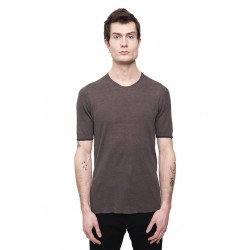 LABEL UNDER CONSTRUCTION 35YMTS316 THERMAL CIRCLE NECK T SHIRT