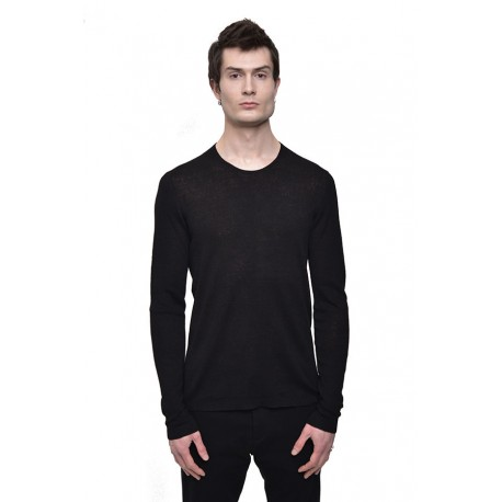 LABEL UNDER CONSTRUCTION 35YMSW243 THERMAL CIRCLE NECK SWEATER