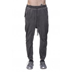 11 BY BORIS BIDJAN SABERI FUP1 F-1229 SWEAT PANTS GRAY - DYE