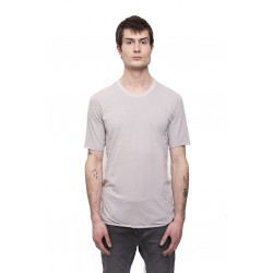 11 BY BORIS BIDJAN SABERI TS1B F-1101 TSHIRT LIGHT GREY DYE