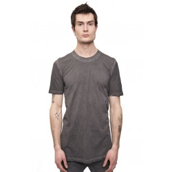 11 BY BORIS BIDJAN SABERI TS5 F-1101 SHORT SLEEVE GRAY DYE