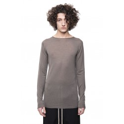 RICK OWENS RU20S7620 M KNIT SWEATER ROUND NECK 34 DUST