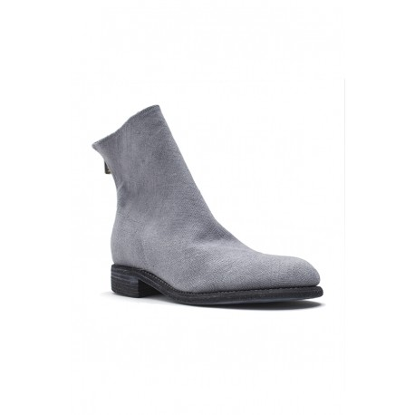 GUIDI 986M SHOES UNI BACK ZIP BOOT SOLE LEATHER
