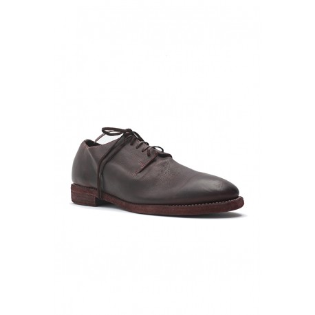 GUIDI 16M SHOES UNI ONE PIECE DERBY, SOLE LEATHER
