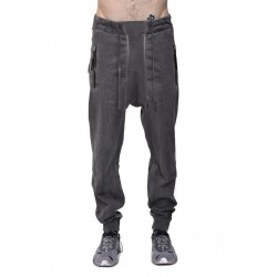 11 BY BORIS BIDJAN SABERI P13 F-1229 SWEAT PANT GRAY DYE