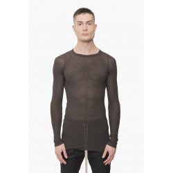 RICK OWENS 20F3250 RC KNIT T-SHIRT 78