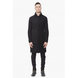 DEVOA NTS-KLC KNIT COAT WOOL-CASHMERE BLACK