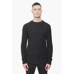 DEVOA NTS-WAY KNIT WOOL BLACK