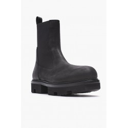 RICK OWENS RU20F3855 LWN LEATHER BOOTS