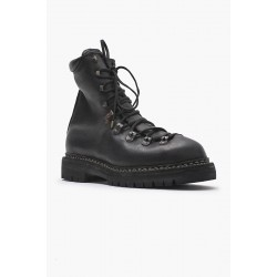 GUIDI 20 MODULATED CALF FULL GRAIN TREKKING BOOT, SOLE RUBBER