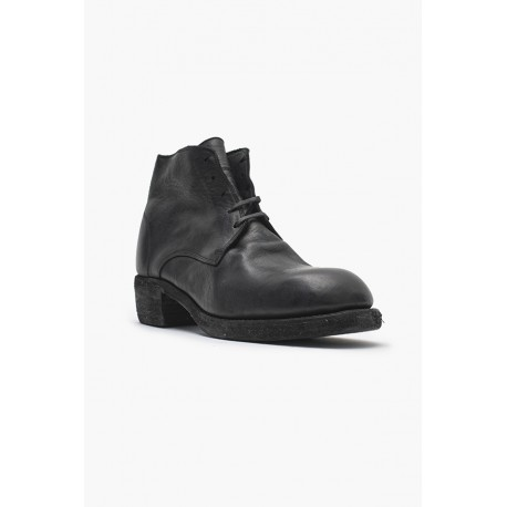 GUIDI 793Z HORSE FULL GRAIN LACE UP BOOTS