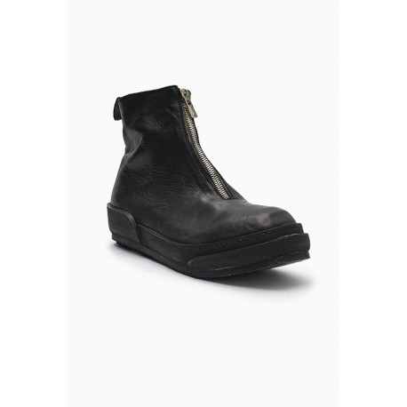 GUIDI PLS HORSE FULL GRAIN FRONT ZIP BOOTS