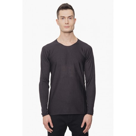 LABEL UNDER CONSTRUCTION 36YMSW152 ARCHED LONG SLEEVE TSHIRT
