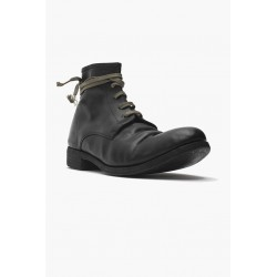 A DICIANNOVEVENTITRE 06  HORSE BLACK ANKLE BOOT