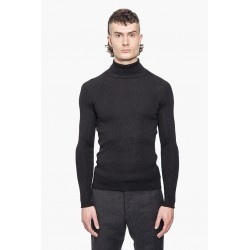 LABEL UNDER CONSTRUCTION HIGH NECK THERMAL SWEATER 38/9