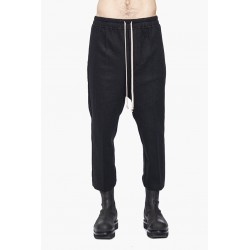 RIICK OWENS RU02A5395 WCF DRAWSTRING ASTAIRES CROPPED